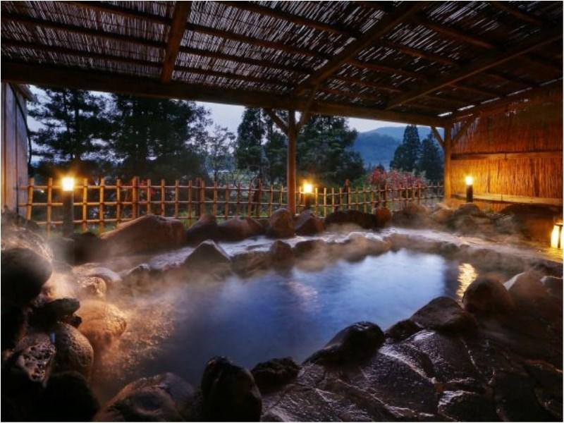 Atsushio Onsen -Yamagataya- Open air bath