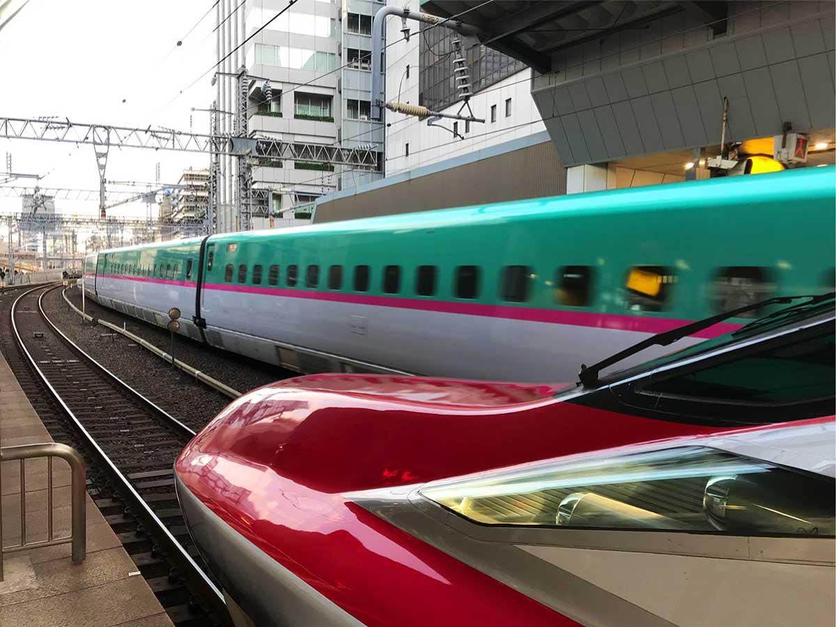 Tohoku Shinkansen (bullet train)